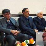 عیادت جمعی از اساتید پزشکی از دکتر عباس شیبانی